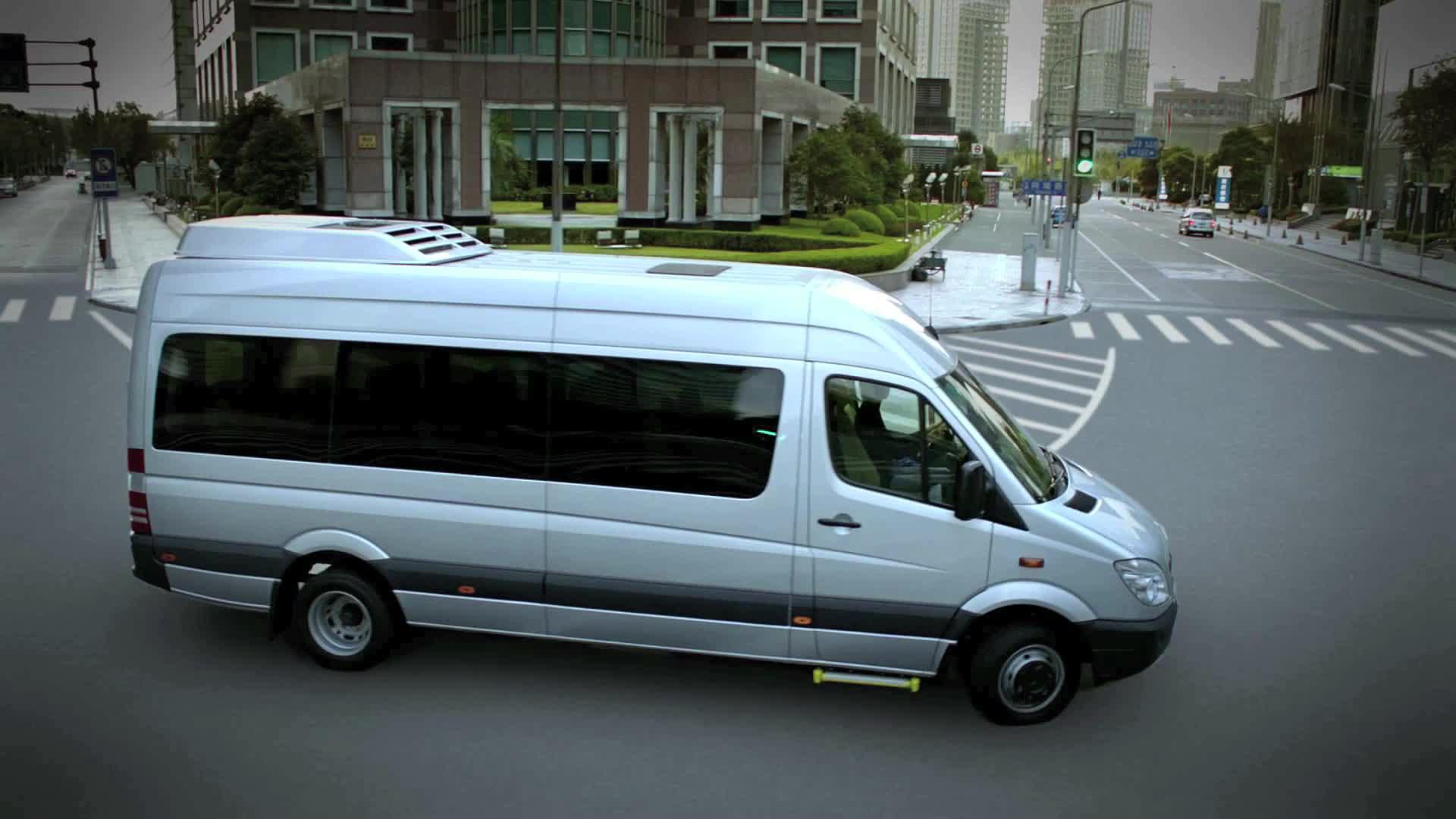 梅赛德斯 奔驰 凌特商务车 奔驰唯雅诺 总裁移动办公室