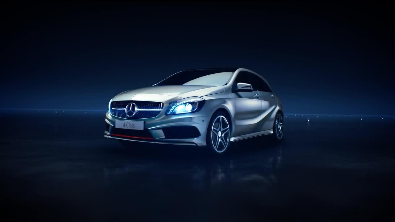 2012款奔驰b级车 国外电视广告