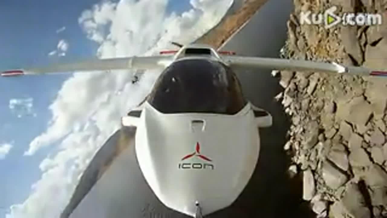 超酷三栖私人飞机
