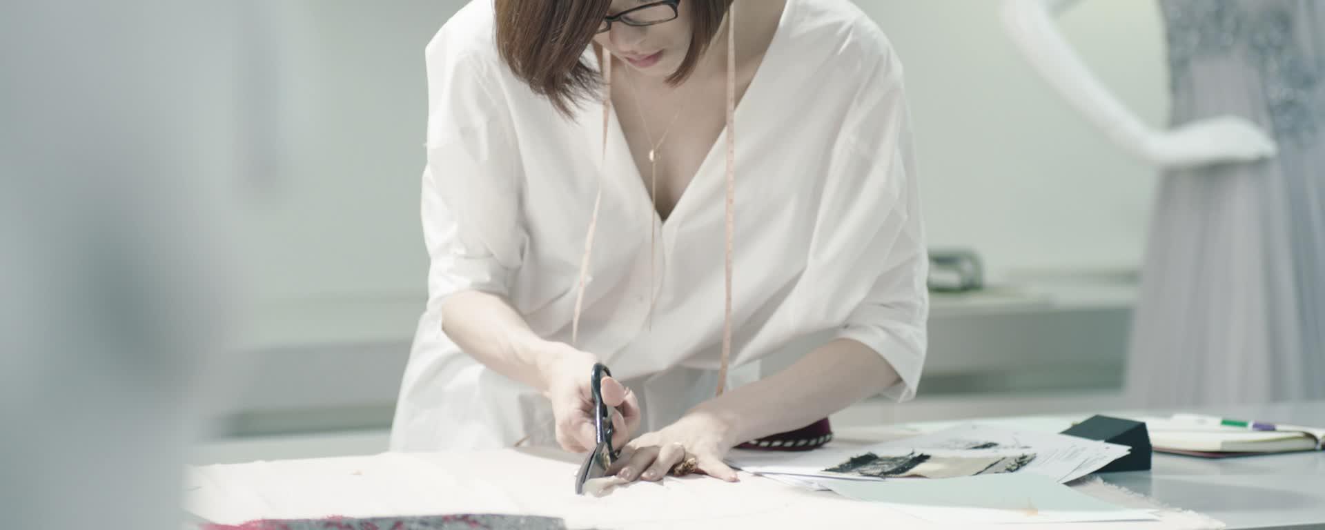 服装设计师萧菲
