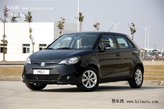 新MG3即将到店济南可预订 订金3000元