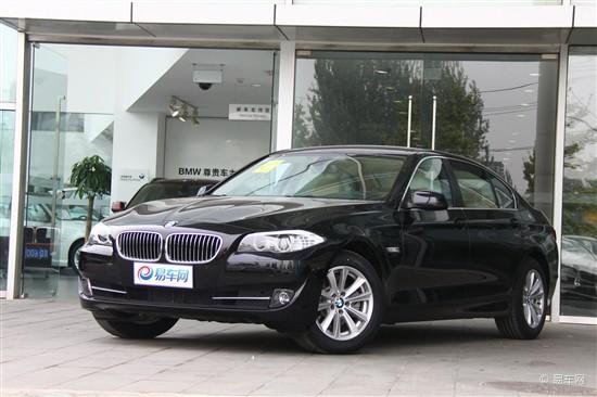 2013款BMW 5系Li现车到店 接受预订