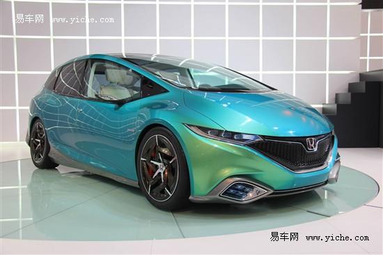 东风本田Concept S明年下半年投产上市