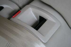 后排座椅特殊细节
