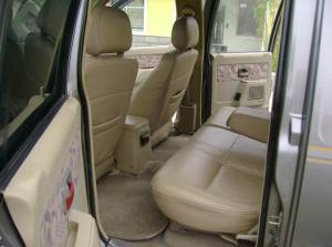 都市骏马SUV后排空间图片