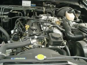 赛弗SUV发动机图片