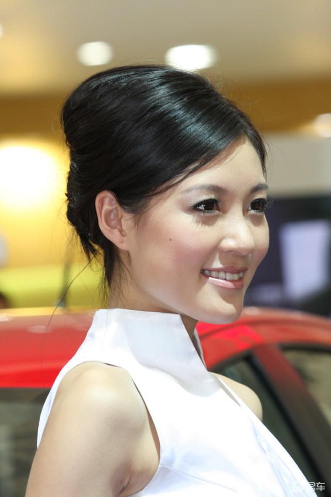 丰田美女车模