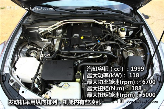 马自达mx-5搭载的2.0lmzr发动机和国产的马自达3属于同一系高清图片