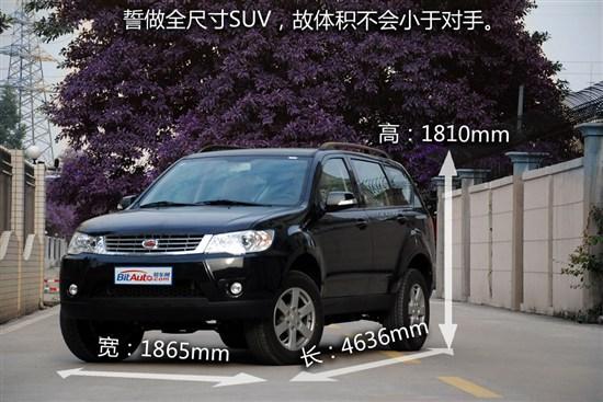 """梦圆""""侠客行"""" 6款自主品牌SUV车型推荐"""