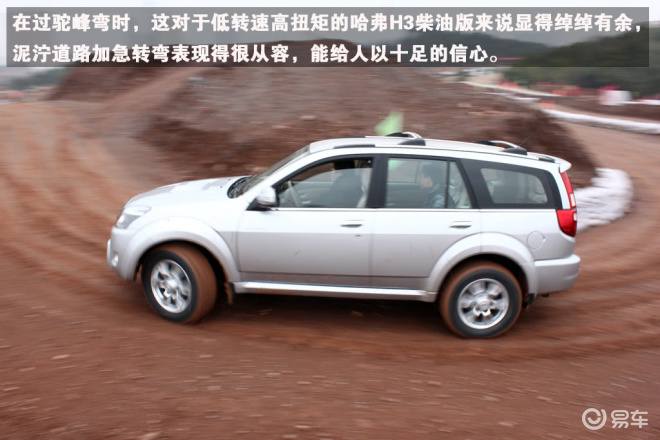 试驾2010款哈弗H3柴油版