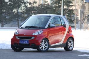 smart fortwo(进口) 2009款 1.0L 自动 硬顶coupe pure版