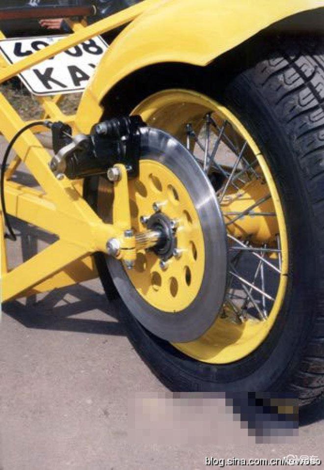 【世上最长的摩托车图片】图片