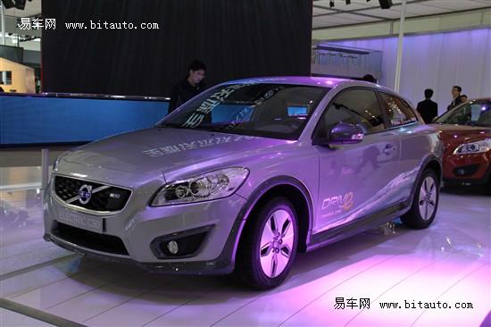 沃尔沃c30纯电动车将于2013年投产高清图片
