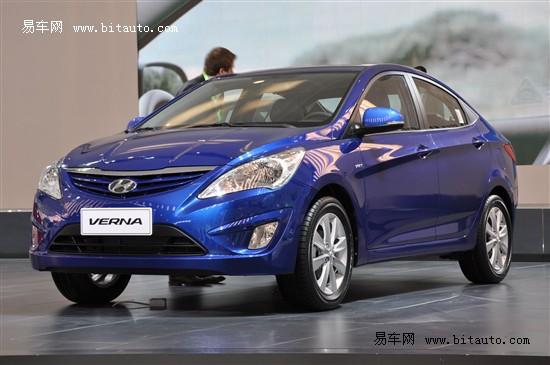 北京现代新车瑞纳8月上市 预售8万元起
