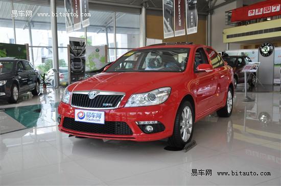 即将上市的新明锐rs.这款高性能都市轿跑车是   上海大众斯高清图片