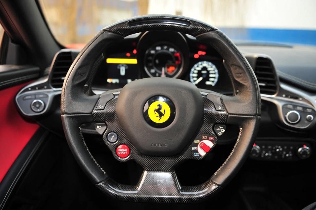 【法拉利458(进口)-内饰图片458italia】-中国青年网汽车 一高清图片