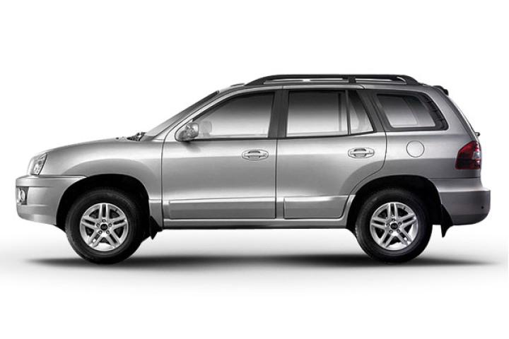 2011款 圣达菲 银灰色汽车图高清图片