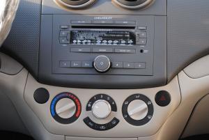乐风 中控台空调控制键