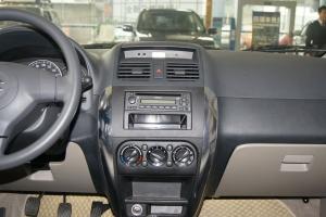 天语SX4三厢中控台正面图片