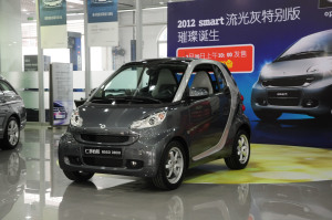 smart fortwo 2012款 1.0T 自动 流光灰特别版