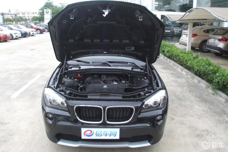 华晨宝马x12012款sdrive18i时尚型发动机盖 高清图片