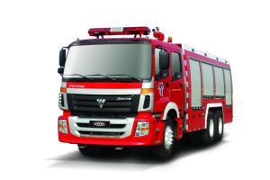 欧曼消防车官方图图片