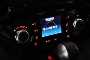 进口日产Juke 中控台空调控制键