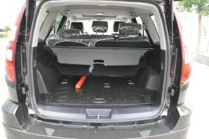 哈弗H3行李箱空间图片