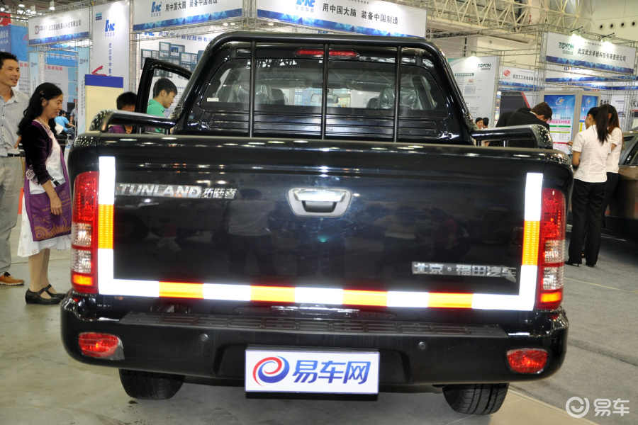 【福田拓陆者2012款2.8T 手动 四驱外观汽车图片-汽车图片大全】-易