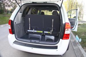 起亚VQ行李箱空间图片