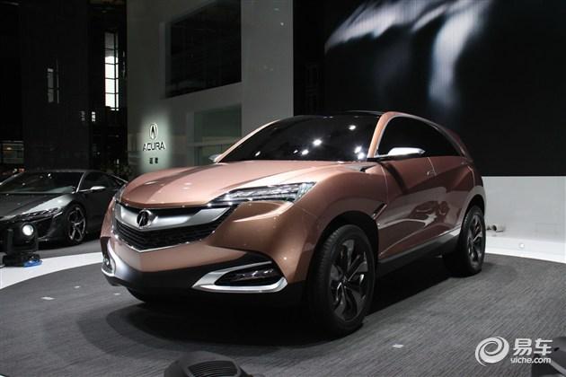 讴歌国产SUV定位紧凑级 2016年中旬推出