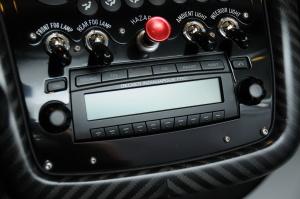 Zonda Cinque中控台音响控制键图片