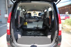 长城V80 行李箱空间