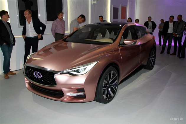英菲尼迪Q30量产版车型将于巴黎车展首发