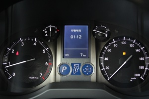雷克萨斯GX仪表盘背光显示图片