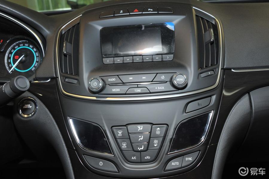 【君威2014款gs 2.0t 自动 豪情运动版中控台正面汽车