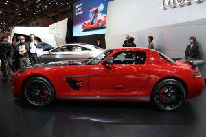 奔驰SLS级AMG(进口)奔驰SLS AMG Final Edition图片