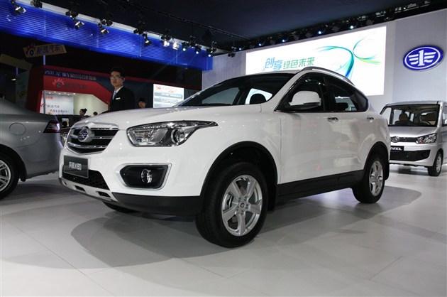 2014北京车展 奔腾X80 1.8T车型发布