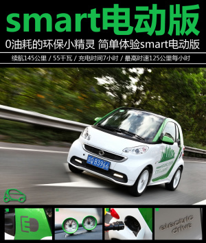fortwo 电动图解
