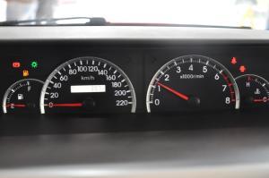 长城V80仪表盘背光显示图片