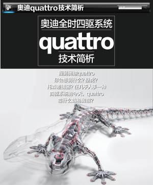 Sport Quattro Concept奥迪quattro技术简析图片