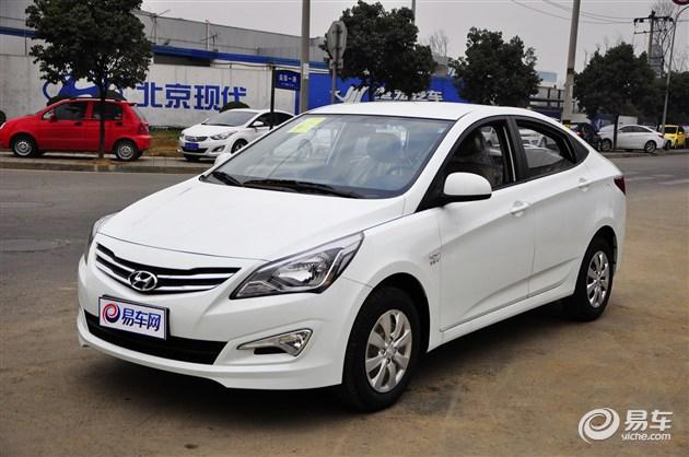 北京现代2014款瑞纳兰州已到店 订金1万元