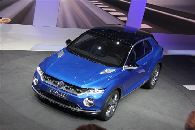 大众概念车T-ROC征求民意  或将实现量产
