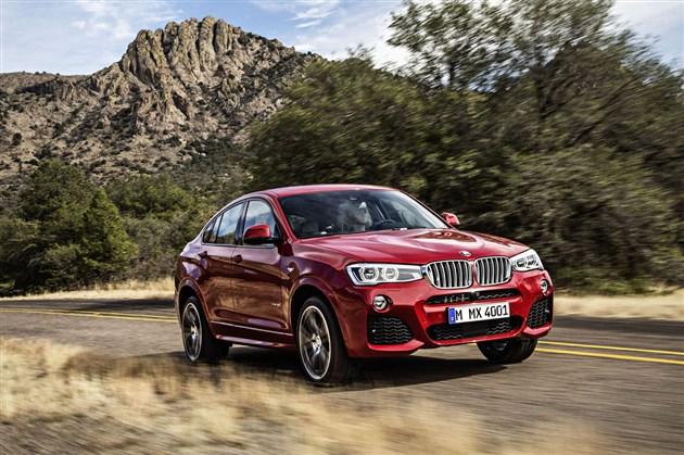 创新BMW X4 全方面丰富的个性表达