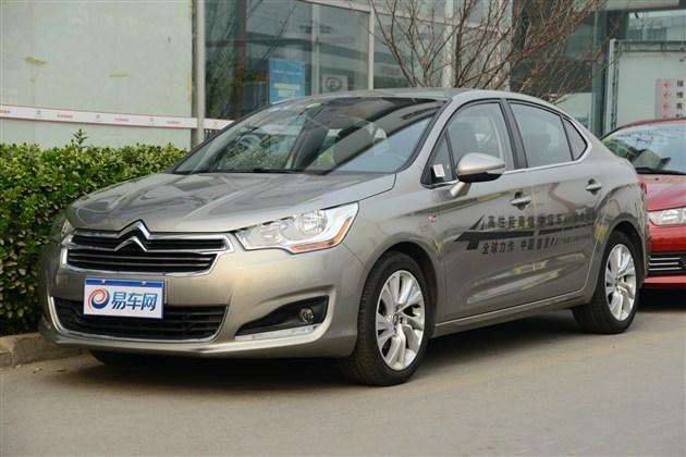 东风雪铁龙C4L 1.2T车型或于上海车展上市