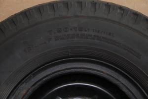 庆铃轻型商用车 备胎规格