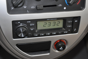一汽佳宝V70 Ⅱ 中控台音响控制键