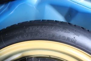 斯巴鲁 WRX STI 备胎规格
