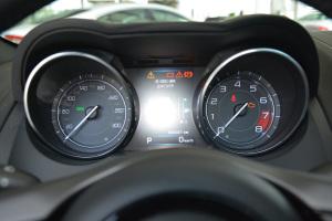 捷豹F-Type仪表盘背光显示图片