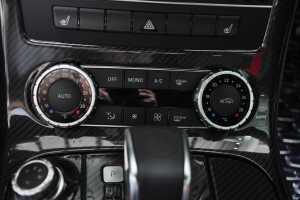 进口奔驰SLS级AMG 中控台空调控制键